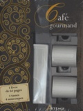 Corinne Chesne et Guillaume Mourton - Café gourmand - 1 livre de 64 pages, 4 tasses, 4 soucoupes.