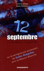 Corinne d' Argis et Alexis Petitjean - 12 septembre.