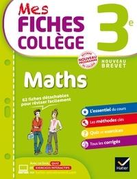 Corinne de Reggi et Marie Brigitte Goiffon-Jacquemont - Mes fiches collège Maths 3e.