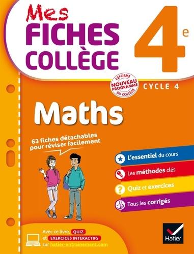 Mes fiches collège maths 4e cycle 4