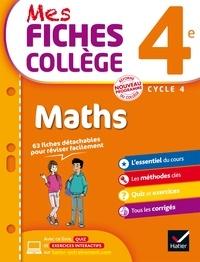 Corinne de Reggi et Marie Brigitte Goiffon-Jacquemont - Mes fiches collège Maths 4e.
