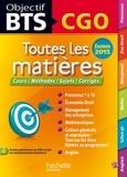 Corinne Denis et Jean-Pierre Broutin - Objectif BTS CGO.