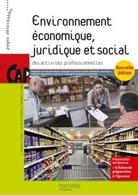 Corinne Dervaux - Environnement économique, juridique et social des activités professionnelles CAP employés de vente spécialisés.