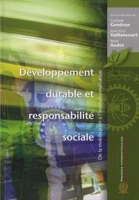 Galabria.be Développement durable et responsabilité sociale - De la mobilisation à l'institutionnalisation Image