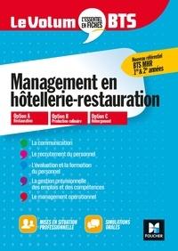 Corinne Hacquemand et Denis Courtiade - Le Volum' BTS - MHR - Management de l'hôtellerie-restauration - Révision et entraînement.