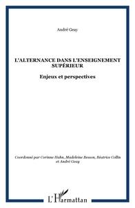 Corinne Hahn et Madeleine Besson - L'alternance dans l'enseignement supérieur : Enjeux et perspectives.
