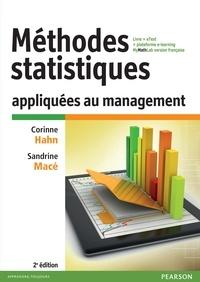 Méthodes statistiques appliquées au management- Livre + eText + plateforme MyMathLab version française - Corinne Hahn |