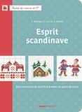 Corinne Lacroix - Esprit scandinave - Des centaines de motifs à broder au point de croix.