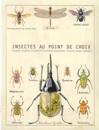 Corinne Lacroix - Insectes au point de croix.