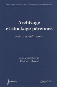 Archivage et stockage pérennes - Enjeux et réalisations.pdf