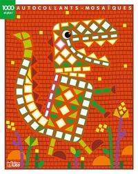Corinne Lemerle - Autocollants-Mosaïques Le dinosaure.