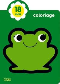Corinne Lemerle - Coloriage petite grenouille.