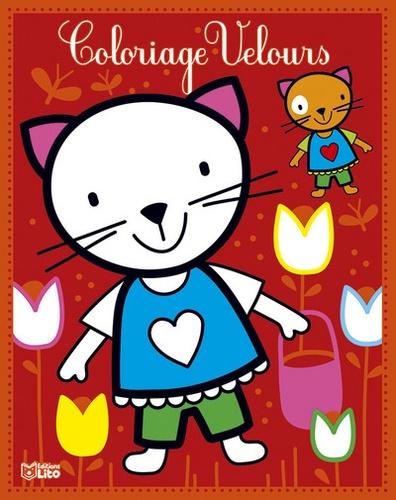 Coloriage Velours Le Petit Chat De Corinne Lemerle Livre Decitre