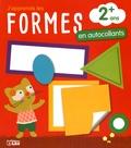 Corinne Lemerle - J'apprends les formes géométriques en autocollants.