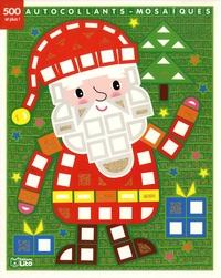 Téléchargez les manuels pdf en ligne Le Père Noël  - 7 images à décorer avec 500 autocollants brillants et plus !