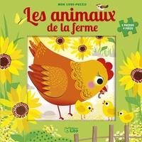 Corinne Lemerle - Les animaux de la ferme - 5 puzzles 9 pièces.