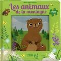 Corinne Lemerle - Les animaux de la montagne - 5 puzzles 9 pièces.