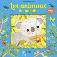Corinne Lemerle - Les animaux du monde - 5 puzzles 9 pièces.