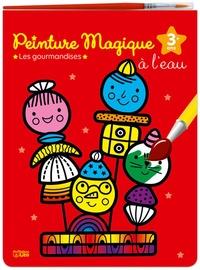 Deedr.fr Peinture magique à l'eau - Les gourmandises - Avec un pinceau Image