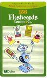 Corinne Marchois et Caroline Forshaw - Domino and Co 156 Flashcards - Beginners, Niveau 1, Niveau 2.