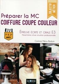 Goodtastepolice.fr Préparer la MC Coiffure Coupe Couleur - Epreuve écrite et orale E3 : Présentation d'une situation professionnelle Image