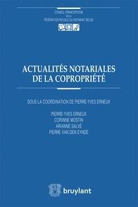 Pierre-Yves Erneux et Corinne Mostin - Actualités notariales de la copropriété.