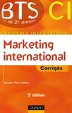 Corinne Pasco-Berho - Marketing international BTS CI - Corrigés.