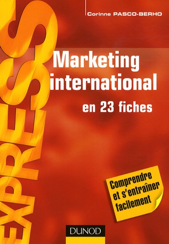 Corinne Pasco-Berho - Marketing international.