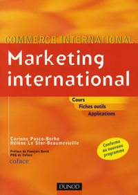 Corinne Pasco - Marketing international.