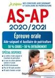 Corinne Pelletier et Charlotte Rousseau - AS-AP 2020/2021 - Epreuve orale - Concours Aide-soignant et Auxiliaire de puériculture - Spécial dispense.