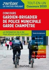 Corinne Pelletier et Thibault Couarc'h - Concours Gardien-brigadier de police municipale et Garde champêtre - Tout-en-un 2020.