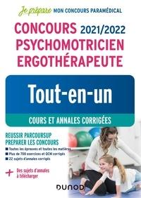 Corinne Pelletier et Benoît Priet - Concours psychomotricien ergothérapeute - Tout-en-un, cours et annales corrigées.