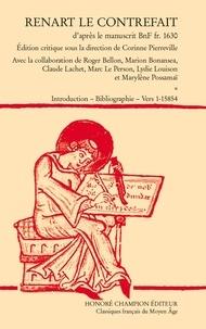 Corinne Pierreville - Renart le contrefait, d'après le manuscrit BnF fr. 1630 - Pack en 2 volumes.