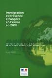 Corinne Regnard - Immigration et présence étrangère en France en 2005 - Rapport annuel de la Direction de la population et des migrations.