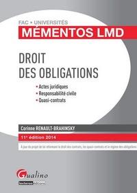Deedr.fr Droit des obligations 2014 Image