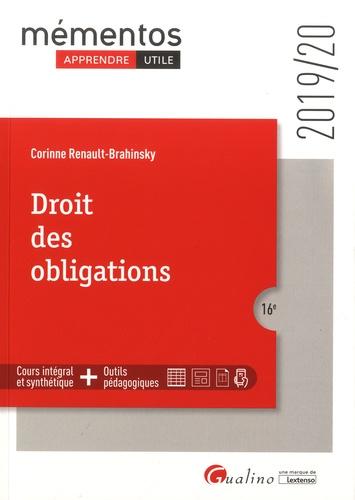 Droit des obligations  Edition 2019-2020