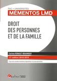 Corinne Renault-Brahinsky - Droit des personnes et de la famille.