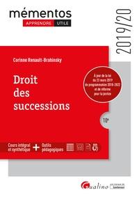 Droit des successions - Corinne Renault-Brahinsky pdf epub