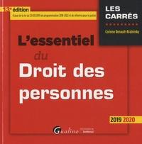 Corinne Renault-Brahinsky - L'essentiel du droit des personnes.