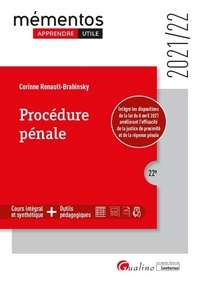 Corinne Renault-Brahinsky - Procédure pénale.