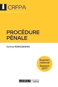 Procedure pénale - Corinne Robaczewski |