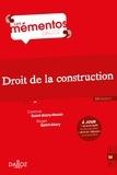 Corinne Saint-Alary Houin et Roger Saint-Alary - Droit de la construction.