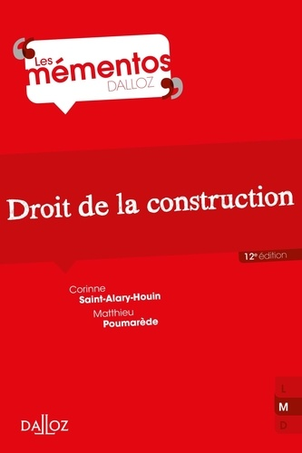Droit de la construction  Edition 2021