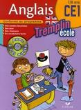 Corinne Touati et Hélène Harris - Tremplin Anglais Ecole CE1 - 7/8 Ans. 1 CD audio