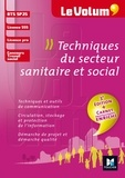 Corinne Tran et Claude Campredon - Lutz - Le Volum' BTS Techniques du secteur sanitaire et social - SP3S - N°8 - 3e édition.