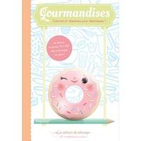 Corinne Vecchione - Gourmandises - Coloriez et dessinez pour déstresser !.