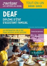 Corinne Verdu et Patricia Velasquez - DEAF - Tout-en-un 2020-2021 - Diplôme d'État d'assistant familial.