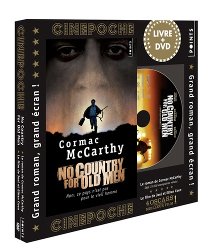 Cormac McCarthy - No country for old men. 1 DVD