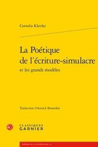 Cornelia Klettke - La poétique de l'écriture-simulacre et les grands modèles.