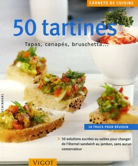 Deedr.fr 50 Tartines - Tapas, canapés, bruschetta... Image